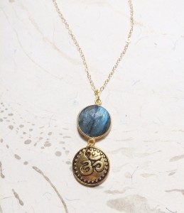Labradorite and Om