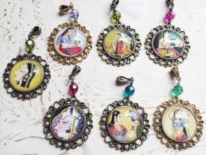 Collection of Indian Art Pendants